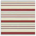 [ Thumbnail: Pale Goldenrod, Light Slate Gray, and Maroon Lines Fabric ]