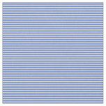 [ Thumbnail: Pale Goldenrod & Royal Blue Lines/Stripes Pattern Fabric ]