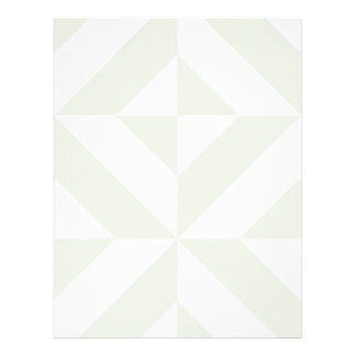 Pale Gray Geometric Deco Scrapbook Paper