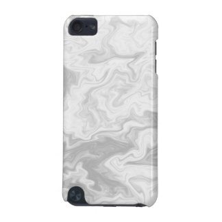 Pale Gray Random Pattern. iPod Touch (5th Generation) Case
