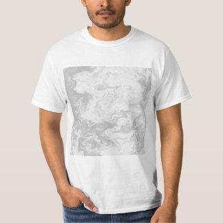 Pale Gray Random Pattern. T-Shirt