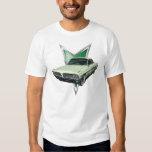 Pale green 1961 Pontiac Ventura in frontal3/4 view Shirt