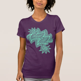 Pale Green Double Spike T-Shirt