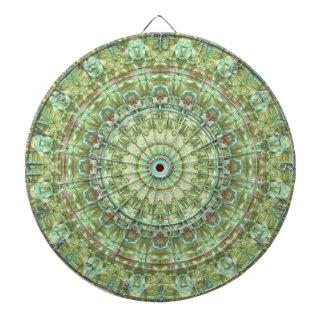 Pale Green Mandala Dartboards
