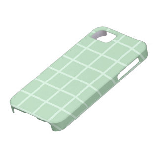 Pale Green Squares iPhone 5 Cover