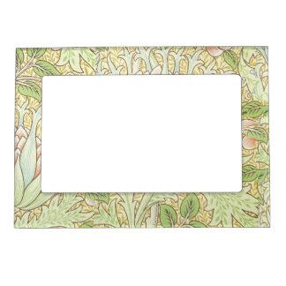 Pale Green William Morris Art Nouveau Magnetic Picture Frame