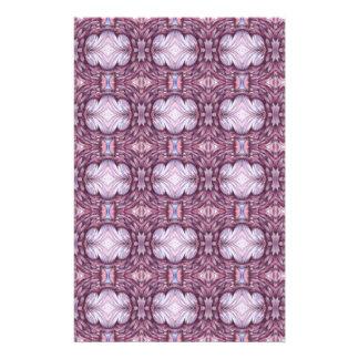 pale grey gray purple pattern customized stationery