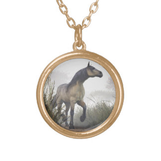 Pale Horse in the Mist Necklaces