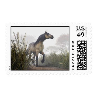 Pale Horse in the Mist Postage Stamps