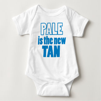 Pale is the new Tan Baby Bodysuit