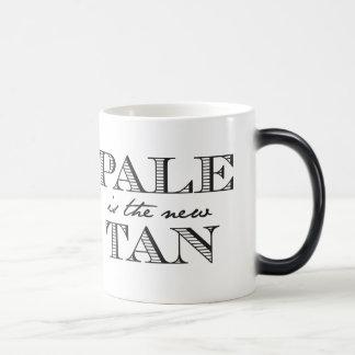 Pale is the New Tan 11 Oz Magic Heat Color-Changing Coffee Mug
