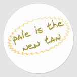 Pale is the new tan sticker