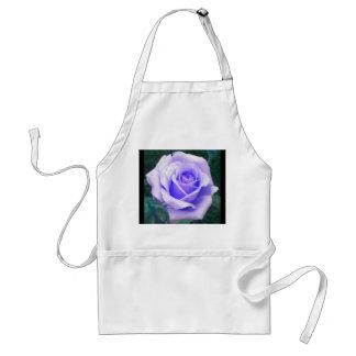 Pale Lavender Rose Apron