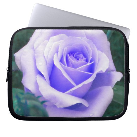 Pale Lavender Rose Laptop Sleeve