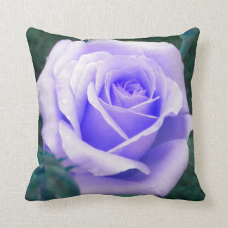 Pale Lavender Rose Throw Pillow