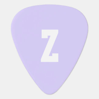 Pale Lavender Stylish Complementary Color Guitar Pick