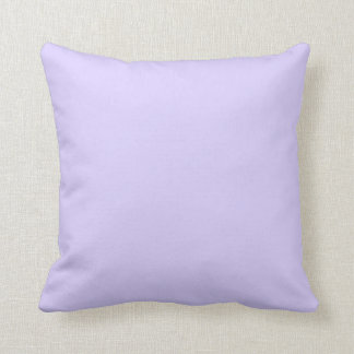 Pale Lavender Violet Throw Pillows