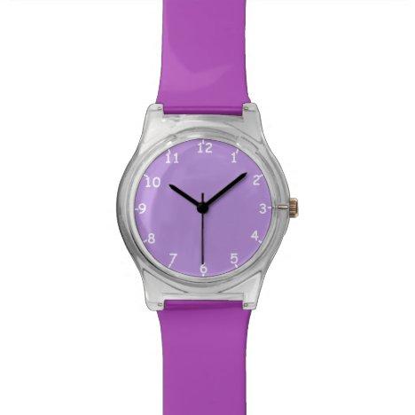 Pale Lavender Wristwatch
