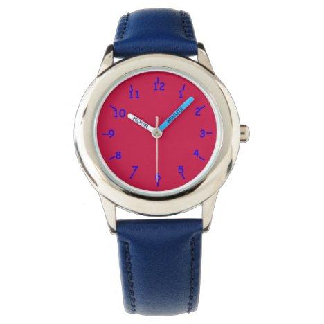Pale Liberty Red Wrist Watch