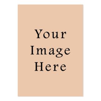 Pale Linen Beige Color Trend Blank Template Business Card Templates