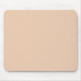 Pale Linen Beige Color Trend Blank Template Mousepad