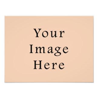 Pale Linen Beige Color Trend Blank Template Photo Print