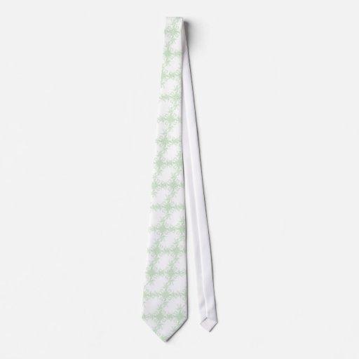 Pale MInt Wedding Floral Tie