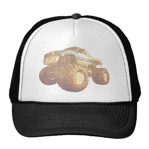 Pale Monster Truck Trucker Hat