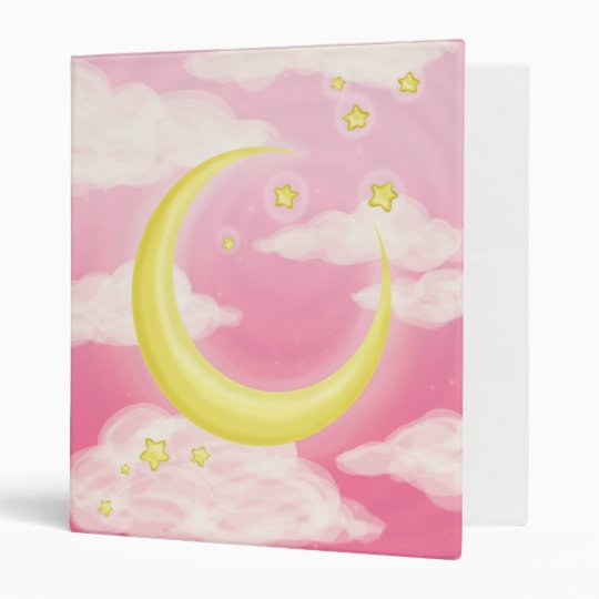 Pale Moon 3 Ring Binder