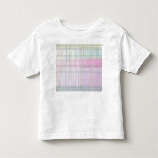 Pale Pastel Plaid Tee Shirts