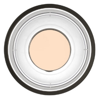 Pale Peach Angelskin Coral Pastel in Summer Gazebo Bowl