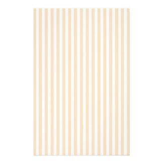 Pale Peach Angelskin Coral & White Stripe Flyer