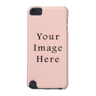 Pale Peach Light Pink Color Trend Blank Template iPod Touch (5th Generation) Case