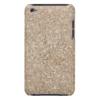 Pale Peachy Beige Cement Sidewalk Case-Mate iPod Touch Case