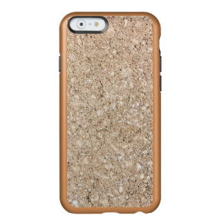 Pale Peachy Beige Cement Sidewalk Incipio Feather Shine iPhone 6 Case
