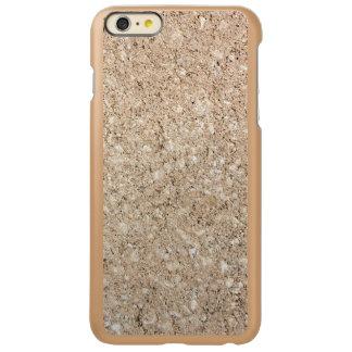 Pale Peachy Beige Cement Sidewalk Incipio Feather Shine iPhone 6 Plus Case