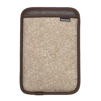 Pale Peachy Beige Cement Sidewalk iPad Mini Sleeves