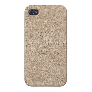 Pale Peachy Beige Cement Sidewalk iPhone 4/4S Cover
