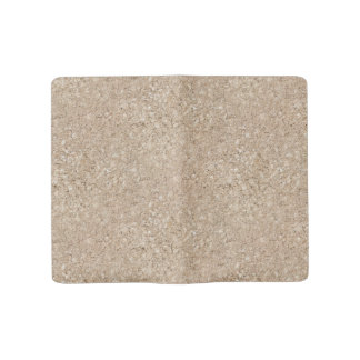 Pale Peachy Beige Cement Sidewalk Large Moleskine Notebook Cover With Notebook