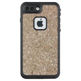 Pale Peachy Beige Cement Sidewalk LifeProof FRĒ iPhone 7 Plus Case