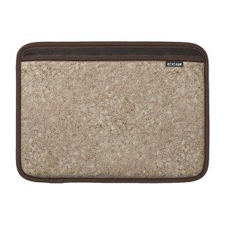 Pale Peachy Beige Cement Sidewalk MacBook Air Sleeves