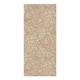 Pale Peachy Beige Cement Sidewalk Rack Card