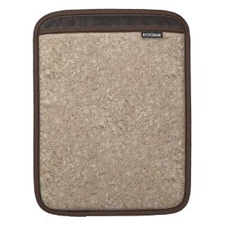 Pale Peachy Beige Cement Sidewalk Sleeve For iPads