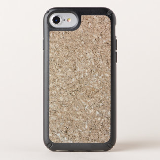 Pale Peachy Beige Cement Sidewalk Speck iPhone Case