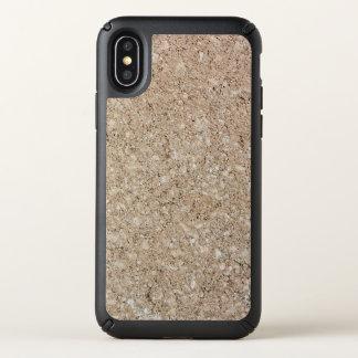 Pale Peachy Beige Cement Sidewalk Speck iPhone X Case