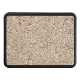 Pale Peachy Beige Cement Sidewalk Trailer Hitch Cover