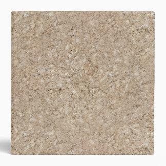 Pale Peachy Beige Cement Sidewalk Vinyl Binders