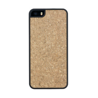 Pale Peachy Beige Cement Sidewalk Carved® Maple iPhone 5 Slim Case