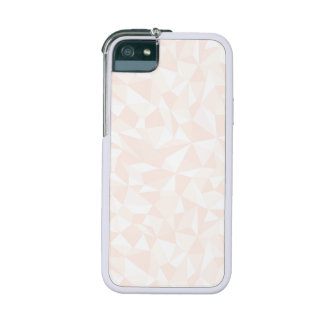 Pale Pink Abstract Geometric Pattern Cover For iPhone 5/5S