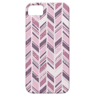 Pale Pink and Violet Chevron iPhone 5 Case